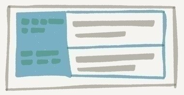 [table要素のイメージ図]