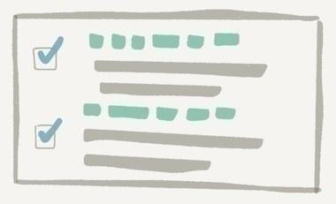 [チェックボックスのイメージ図]