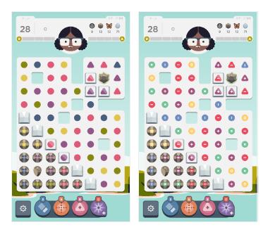 キャプチャ:Dots&Coのゲーム画面が並んでいる